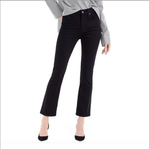 J. Crew Billie Demi High Rise Boot Crop Jeans 25